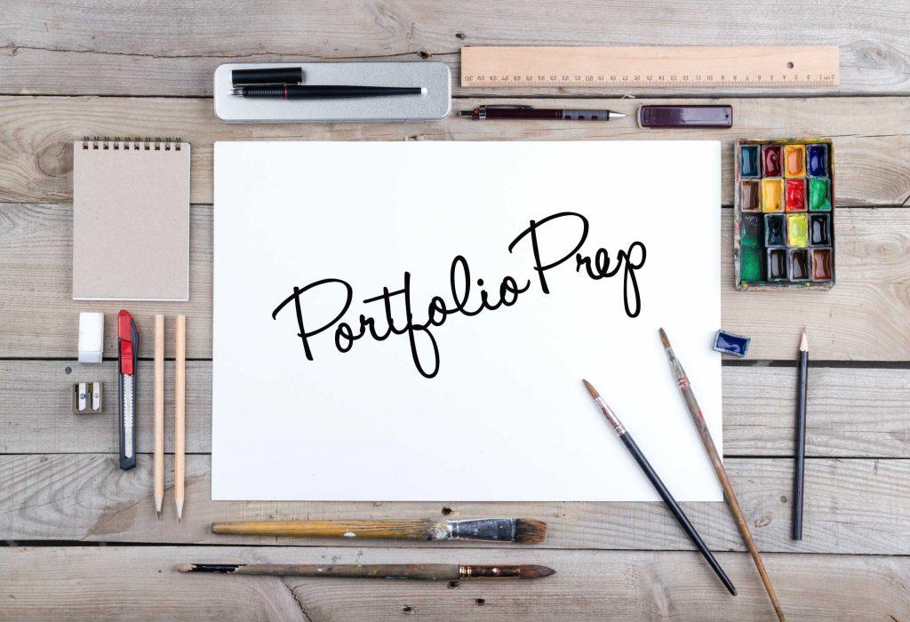 Talented Art Portfolio Preparation